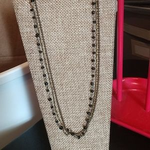 Vintage three strand chocker style necklace 20-268